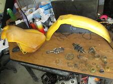 1984 Suzuki RM250 Gas Tank Front Fender Layshaft Main Shaft Idler Gear Parts Lot