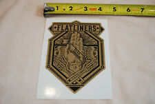 THE FLATLINERS Dead Language STICKER Decal punk hot water music rancid nofx