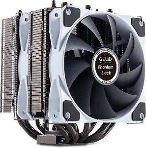 Gelid Phantom Black Dual Tower CPU Cooler