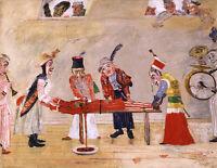 The Assassination : James Ensor : 1888 : Archival Quality Art Print