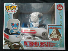 New listing Funko Pop Disney Park Exclusive Matterhorn Bobsled With Abominable Snowman