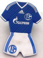 MAGNET + FC Schalke 04 Form Trikot Home Hose Signet S04 Lizenz Kühlschrankmagnet