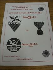 29/09/1982 Sliema Wanderers v Swansea City Copa Ganadores Copa Europea []. (no cualquier