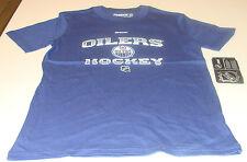 Edmonton Oilers T Shirt Age 10/12 Medium Child Kids NHL Youth Locker Room Hockey