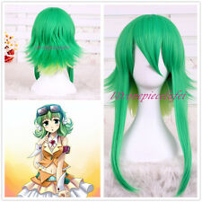 Animation Vocaloid GUMI Cosplay Anti Alice Grass Green Wig CC124 +a wig cap