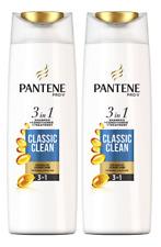 2x Pantene Pro-V Classic Clean 3in1 (Shampoo+ Conditioner+Treatment) 225ml