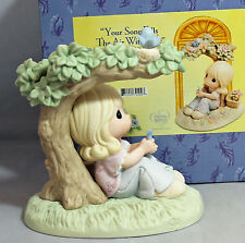 Precious Moment Figurine, cc790004, Your Song Fills The Air With Love MIB