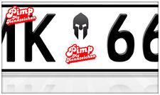 AU Ersatz Plakette Nummernschild Aufkleber Spartacus Helm Rossi Logo Motor GP