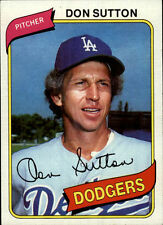 1980 Topps Don Sutton, Dodgers, #440 Baseball Card