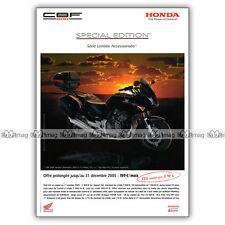 PUB HONDA CBF 600 SPECIAL EDITION - Original Advert / Publicité Moto de 2005