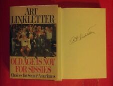 """Art Linkletter/Old Age Is Not For Sissies""signed book!.(Viking!.1988!)"