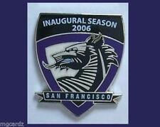 2006 San Francisco Dragons -Lacrosse -1st Season (2) New Pins