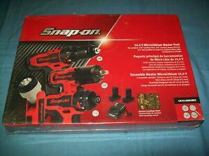 "NEW Snap-on® 3/8"" 14.4V Cordless Impact Drill Screwdriver Light CK761SIDCMK2"
