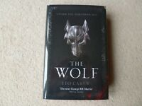 LEO CAREW - THE WOLF (UNDER THE NORTHERN SKY) SIGNED/LIMITED x/250 HB 2018.