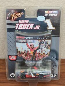 2007 #1 Martin Truex Jr. Bass Pro Dover 1st Cup Win 1/64 Winner's Circle NASCAR