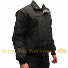 Mens Bomber Jacket Padded Coat Work Quilted Checked Tartan Lined Winter Work