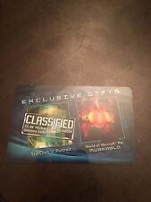 *** RARE *** BlizzCon 2011 Loot Card - Murkablo + SC2 Portrait & Decal