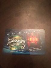 *** RARE *** BlizzCon 2011 Loot Card - Murkablo + SC2 Portrait & Decal