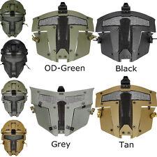Airsoft Tactical SPT Metal Mesh Full Face Mask Sparta AF Helmet Mask Protector