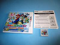 Mario Party Island Tour (Nintendo 3DS) w/Case & Insert