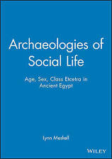 NEW Archaeologies of Social Life: Age, Sex, Class et cetera in Ancient Egypt