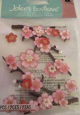 JOLEE'S BOUTIQUE TOGETHER BLOSSOMS Flower Scrapbook Craft Stickers Embellishment