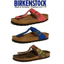 BIRKENSTOCK GIZEH NUBUCK SUEDE LEATHER SANDALS LADIES GIRLS FLIP FLOPS SLIP ONS