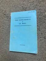 🔥 The Card Magic Of Paul LePaul - Tannen's Collectible Magic Book