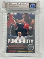 Mike Tyson's Punch Out 1st Release w/ White Bullets! No Rev-A CIB NES WATA 7.5