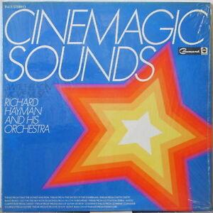 RICHARD HAYMAN &ORCHESTRA Cinemagic Sounds—Switched-On Movie…LP Non-Gatefold ed.
