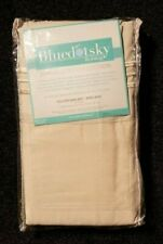 bluedot sky bedding beige king size microfiber pillowcase set