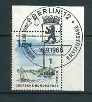 Berlin Mi-Nr. 264 Ecke - Eckrand - Vollstempel  Berlin ESST - Originalgummierung