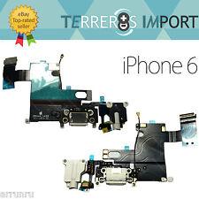 Flex Dock Conector Datos Carga Microfono Auricular Jack iPhone 6 Blanco