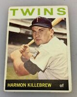 1964 Topps # 177 Harmon Killebrew Baseball Card Minnesota Twins HOF
