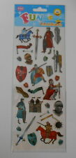 """BEAUTIFUL FUN STICKERS """" KNIGHTS """" FOR CARDS & CRAFT"""