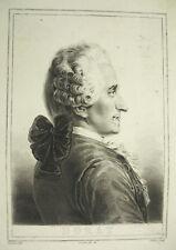 Chevalier Claude-Joseph Dorat poeta, drammaturgo Ethiou Deveria Tramonto c1880