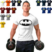 2018 Men Batman Fitness T Shirt Muscle Bodybuilding Stringers Batman T-shirt