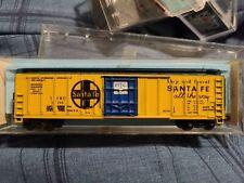 N Scale Atlas 50' Santa Fe Mech Reefer 2301