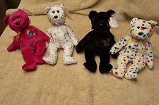 Ty Beanie Babies Rare CollectionThe End, The Beginning, Ty 2K, Millennium NWT