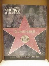 LOS ANGELES KINGS 2003-2004 YEARBOOK