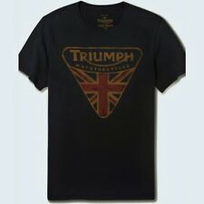 *Lucky Brand Official TRIUMPH MOTORCYCLES BADGE T-Shirt - Size XXL - ***New***