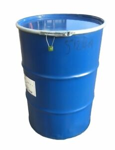 205L 45 GALLON SHIPPING DRUM SHIPPING BARREL OIL DRUM STEEL CONTAINER + LOCK