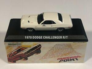 GREENLIGHT 86545 Dodge Challenger R/T 1970 Vanishing Point 1/43 Voiture