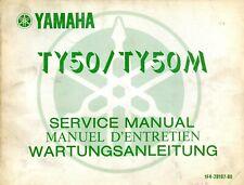 Yamaha TY50 & TY50M 1976 Service Manual 1F4-28197-80