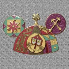 Celebrating Fifty Years Jumbo Pin - A Small World - Mickey Ear Hat Disney LE 750