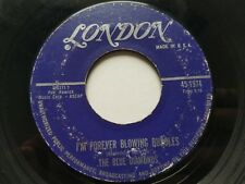 """THE BLUE DIAMONDS - I'm Forever Blowing Bubbles 1961 DOO WOP VOCAL 7"""" London"""