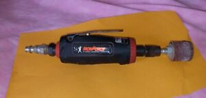 """USED MINI AIR DIE GRINDER TOOL KIT, 1/4"""" Campbell HausfIeld IFT220, Iron Force"""
