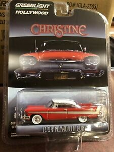 Greenlight 1:64 Hollywood series 23 Christine 58' Plymouth Fury