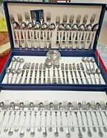 75-Pc Flatware Set 18/10 Stainless Silverware Hostess Service for 12