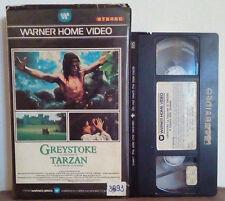 VHS FILM Ita Drammatico GREYSTOKE La Leggenda Di Tarzan ex nolo no dvd(VHS17)